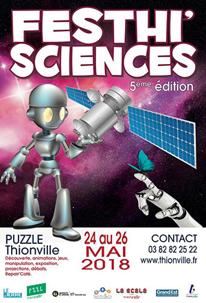 Festhi sciences 5e édition puzzle 24 au 26 mai 2018