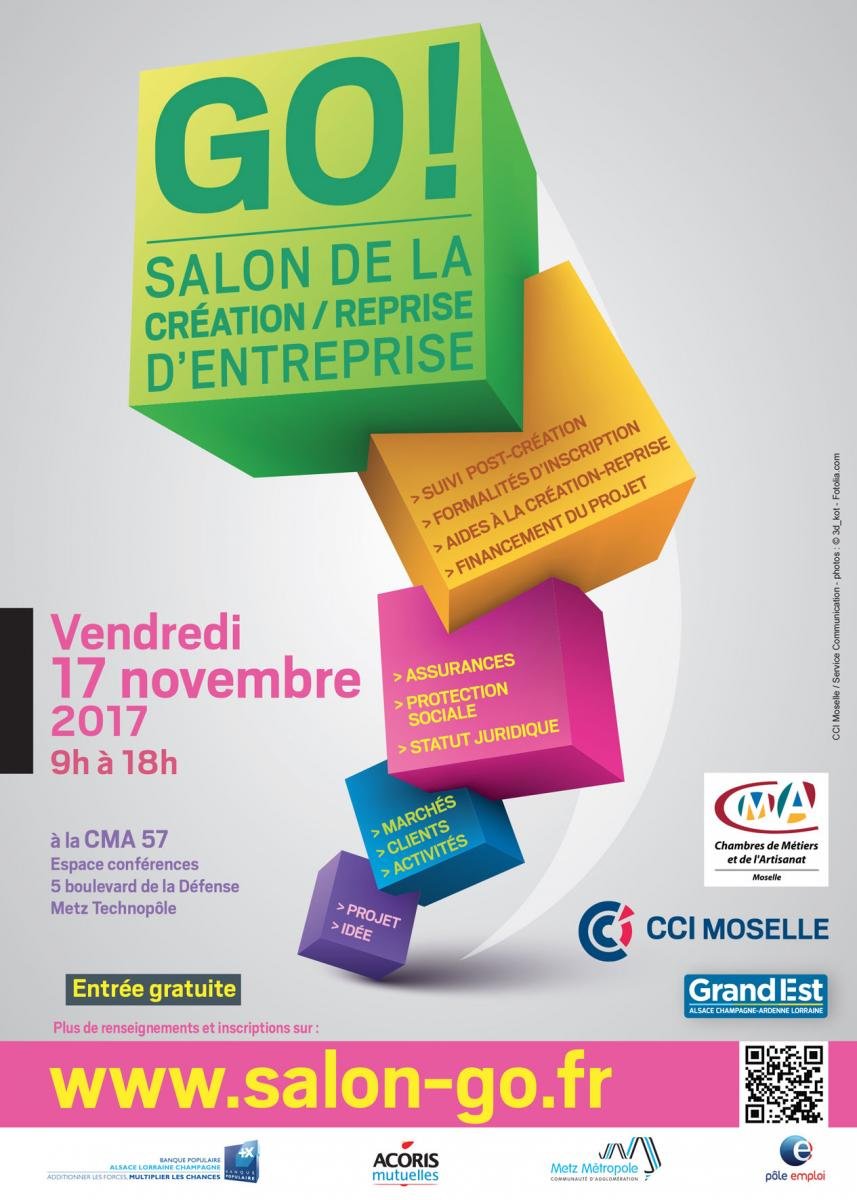 Salon de la cr ation reprise d 39 entreprise thionville for Salon creation entreprise