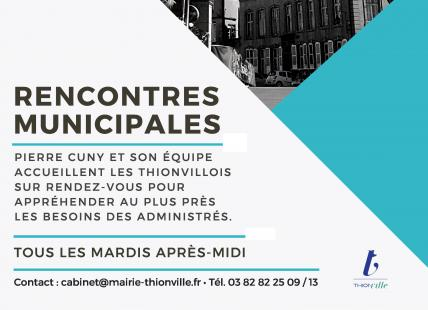 rencontres municipales