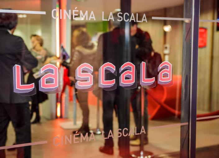 inauguration cinema la scala